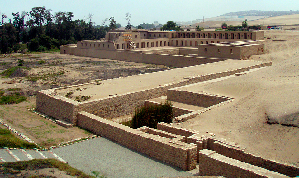 Pachacamac Site Private Travel to Peru