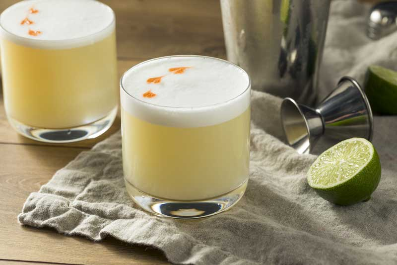 South America Travel Guide - Pisco Sour Recipe