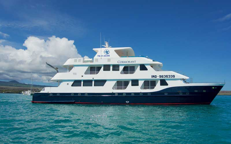 Galapagos Islands Cruises - Cormorant Yacht